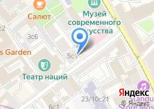 Компания «Gentlemen`s Tonic Moscow» на карте