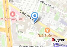 Компания «Строящееся административное здание по ул. Союзная» на карте