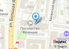 Компания «Посольство Франции» на карте