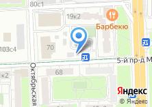Компания «Интерпаркинг» на карте