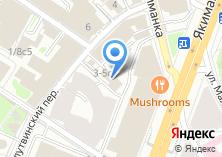 Компания «Двитекс» на карте