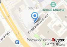Компания «Спроси адвоката» на карте