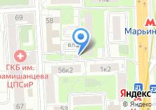 Компания «Шереметьевская» на карте