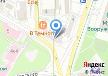 Компания «Федерация спорта по футболу среди слепых и слабовидящих России» на карте