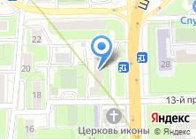 Компания «Мастерская по ремонту одежды обуви и изготовлению ключей на Шереметьевской» на карте