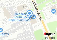 Компания «Апейрон» на карте