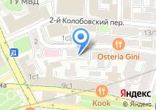 Компания «АКБ Транскапиталбанк» на карте