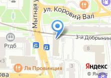 Компания «МосБух» на карте