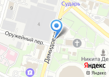 Компания «Некрополь Демидовых» на карте