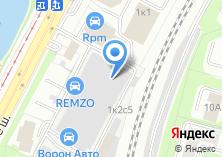 Компания «REMZO» на карте
