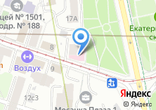 Компания «Медстайл эффект» на карте