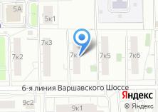 Компания «Участковый пункт полиции Нагорный район» на карте