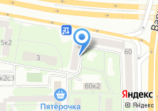 Компания «Комподек» на карте