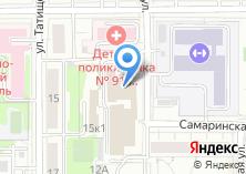 Компания «МБА-центр» на карте