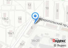 Компания «Союз ветеранов Южного административного округа г. Москвы» на карте