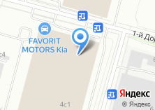Компания «FAVORIT MOTORS» на карте