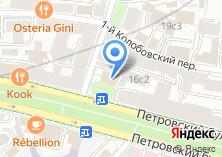 Компания «Аделант банк» на карте