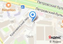 Компания «Храм Преподобного Сергия Радонежского в Крапивниках» на карте
