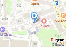 Компания «Представительство Ямало-Ненецкого Автономного Округа при Правительстве РФ» на карте