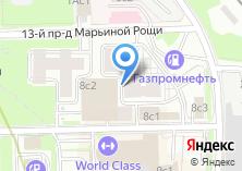 Компания «Профкосметик» на карте