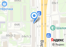Компания «Unico doors» на карте