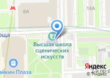 Компания «Строящееся административное здание по ул. Шереметьевская» на карте