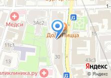Компания «Росэлторг» на карте