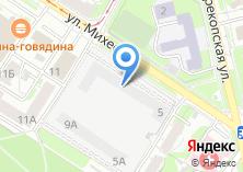 Компания «Автостоянка на ул. Михеева» на карте