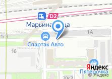 Компания «Спартак Авто» на карте