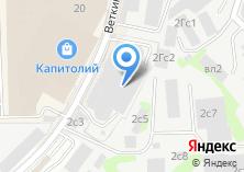Компания «Эстет сеть ювелирных салонов» на карте