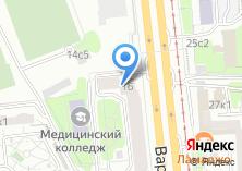 Компания «Masterweb» на карте