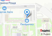 Компания «Почтовое отделение №129594» на карте