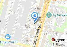 Компания «Госавтодорнадзор» на карте
