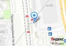 Компания «Станция Нагатинская» на карте