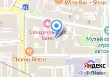 Компания «Сандуновские бани» на карте