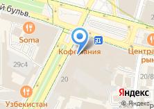 Компания «Кофемания» на карте