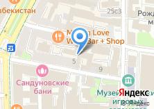 Компания «МОНОЛИТ РЕАЛТИ» на карте