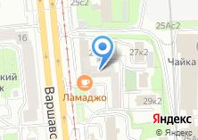 Компания «Мастерская зеркал Багемика» на карте