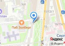 Компания «Кантата» на карте