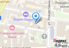 Компания «Кредпромбанк» на карте