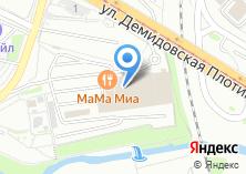 Компания «Диван» на карте