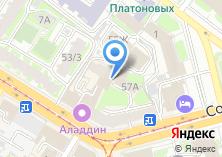 Компания «УниверсалПроект» на карте
