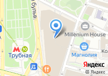 Компания «Легенда Цветного - бизнес центр» на карте