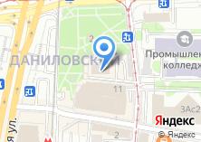 Компания «Территориальная избирательная комиссия Даниловского района» на карте