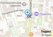 Компания «Посольство Кыргызской Республики в РФ» на карте