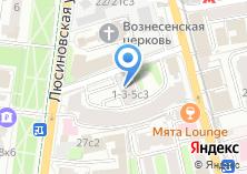 Компания «Недвижимость Московско-Парижского банка» на карте
