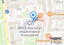Компания «Московский педагогический государственный университет» на карте