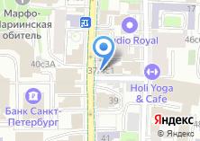 Компания «МСП Лизинг» на карте