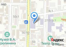 Компания «Педагогический колледж №1 им. К.Д. Ушинского» на карте