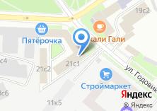Компания «ГЛОНАСС ТЕЛЕМАТИКА» на карте